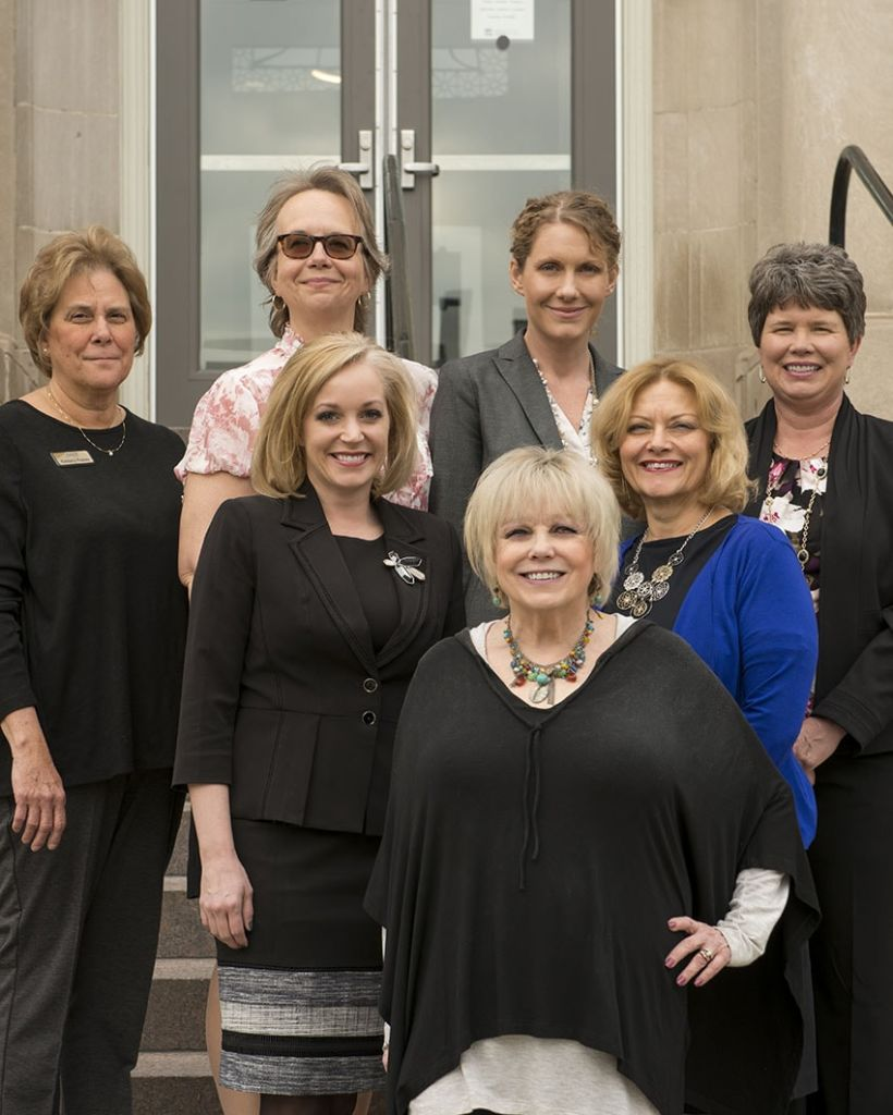 Members of the Women in Leadership board